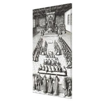 Reina Elizabeth I en el parlamento Lienzo Envuelto Para Galerias