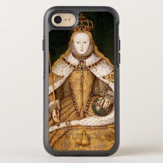Reina Elizabeth I en trajes de la coronación Funda OtterBox Symmetry Para iPhone 7