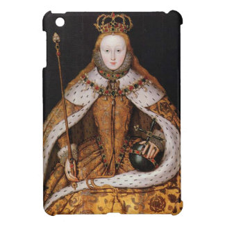 Reina Elizabeth I iPad Mini Funda