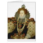 Reina Elizabeth I Tarjeta