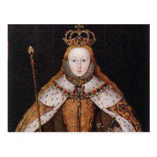 Reina Elizabeth I Postales