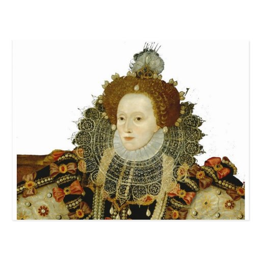 Reina Elizabeth I Tarjeta Postal