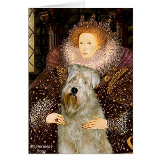 Reina Elizabeth I - Terrier de trigo Tarjetas