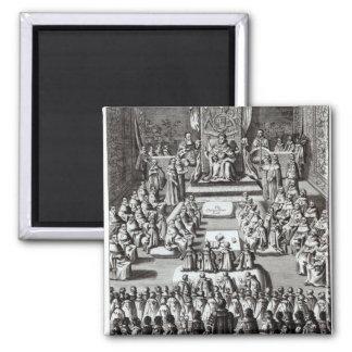 Reina Elizabeth I y el parlamento Iman Para Frigorífico