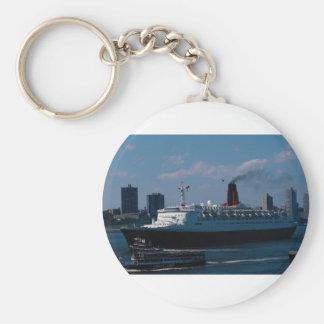 """Reina Elizabeth II del RMS"""", revestimiento marino Llavero Personalizado"""