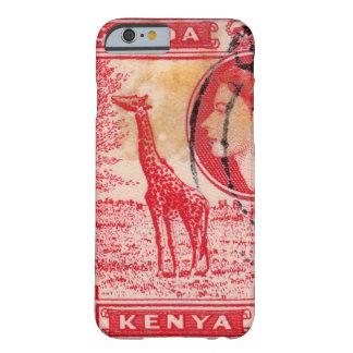 Reina Elizabeth II Kenia del vintage Funda De iPhone 6 Barely There