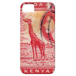 Reina Elizabeth II Kenia del vintage iPhone 5 Case-Mate Fundas