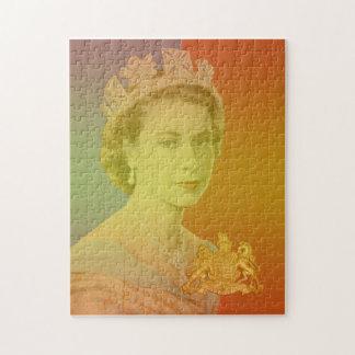 Reina Elizabeth II Puzzle