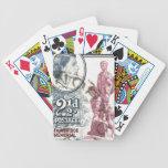 Reina Elizabeth II Rhodesia del vintage Baraja Cartas De Poker