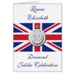 Reina Elizabeth jubileo de 60 años Tarjeta De Felicitación