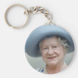 Reina Elizabeth, la reina madre 1988 de HRH Llavero Redondo Tipo Pin