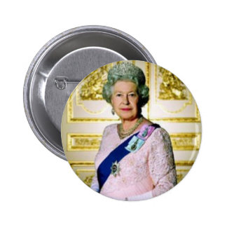 Reina Elizabeth Pin Redondo De 2 Pulgadas