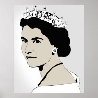 reina Elizabeth Póster