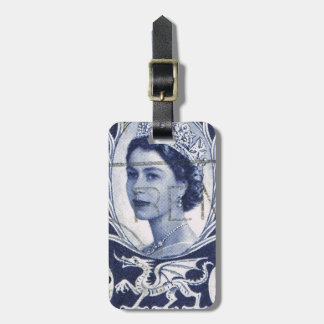 Reina Elizabeth Reino Unido Gran Bretaña del Etiqueta Para Maleta