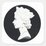 Reina Elizabzth II, Vivat Regina Pegatinas