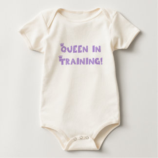 ¡Reina en el entrenamiento! Mameluco De Bebé