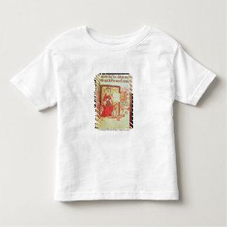 Reina fol.7 Matilda de Nero D VIII del algodón que Polera