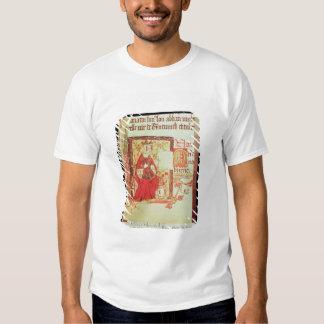 Reina fol.7 Matilda de Nero D VIII del algodón que Poleras