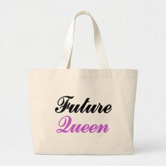 Reina futura bolsa tela grande