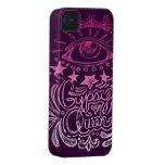 Reina gitana Case-Mate iPhone 4 carcasas