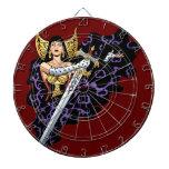 Reina gótica mágica con la espada enorme por el Al Tablero De Dardos
