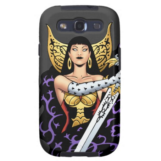 Reina gótica mágica con la espada enorme por el Al Samsung Galaxy S3 Cárcasa