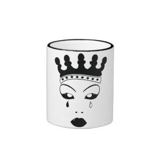 Reina gritadora taza