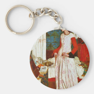 Reina Guinevere de William Morris (la mejor calida Llavero