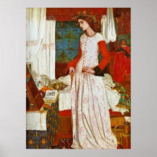 Reina Guinevere de William Morris Posters
