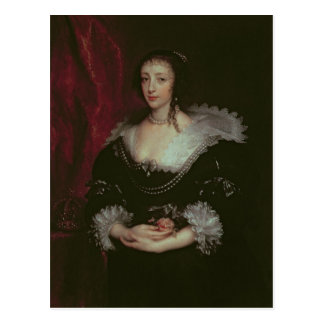 Reina Henrietta Maria Tarjeta Postal