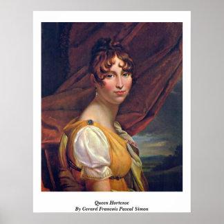 Reina Hortense de Gerard Francois Pascal Simon Impresiones