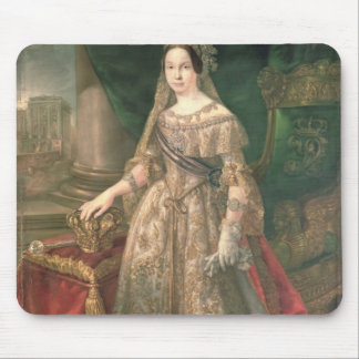 Reina Isabel II 1843 Mouse Pads