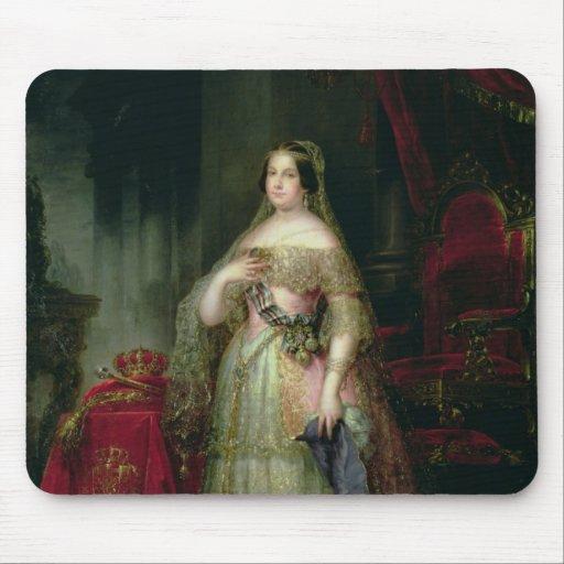 Reina Isabel II de España Tapetes De Ratón