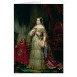 Reina Isabel II de España Tarjeton
