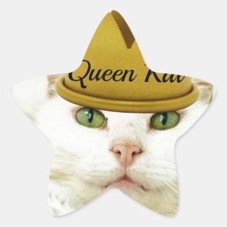 Reina Kat Calcomanías Forma De Estrellas Personalizadas