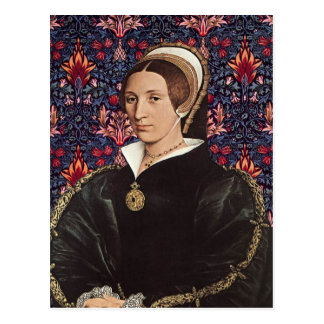 Reina Katherine Howard - postal del retrato
