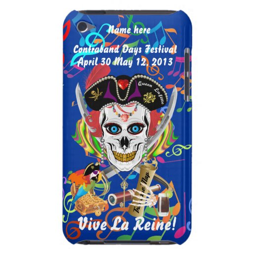 Reina Lafitte del pirata todas las indirectas de l Case-Mate iPod Touch Fundas