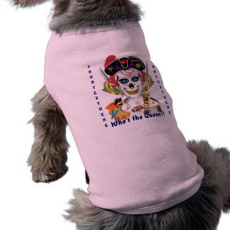 Reina Lafitte del pirata todas las indirectas de l Playera Sin Mangas Para Perro