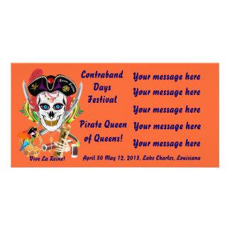 Reina Lafitte del pirata todas las indirectas de l Tarjetas Fotográficas Personalizadas