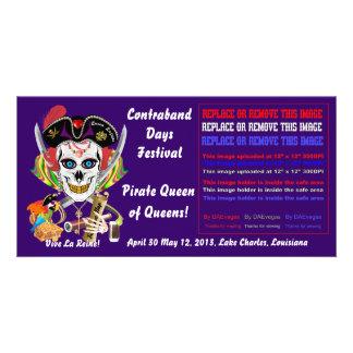 Reina Lafitte del pirata todas las indirectas de l Tarjetas Fotograficas Personalizadas
