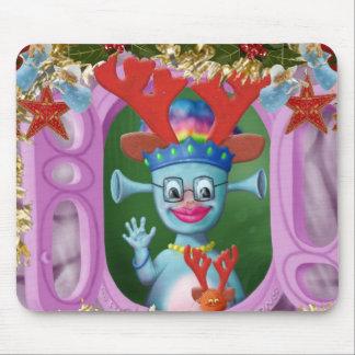 Reina Mabel y Cedric. ¡Felices Navidad! Alfombrilla De Raton