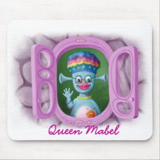 Reina Mabel y Cedric Alfombrillas De Ratones