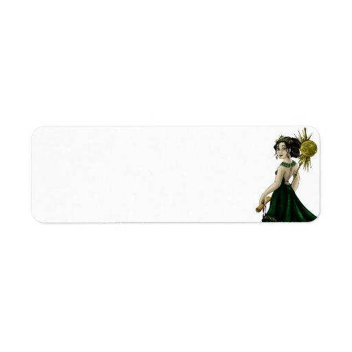 Reina Magnacious Etiquetas De Remite