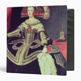 "Reina Mariana de Austria c.1653 Carpeta 1 1/2"""