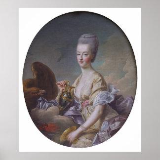 Reina Marie Antonieta de François Huberto Drouais Poster