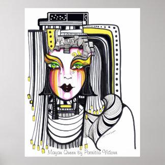 Reina maya poster