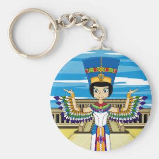 Reina Nefertiti en el llavero de Hatshepsut
