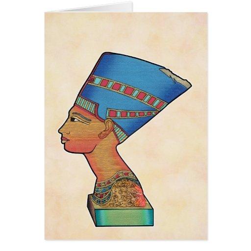 Reina Nefertiti Felicitación