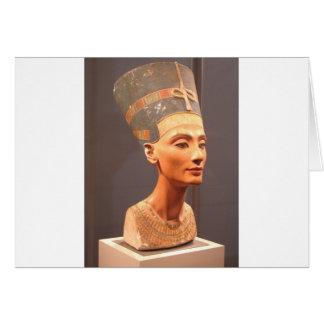 Reina Nefertiti Tarjeta De Felicitación