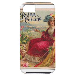 Reina of Cuba From Havana Cigarettes Vintage iPhone SE/5/5s Case